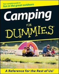 Camping For Dummies Paperback Hodgson Michael