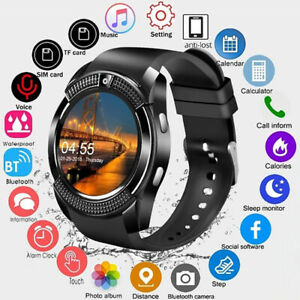 Waterproof Bluetooth Smart Watch Phone Mate Fitness Tracker For All Smart Phone $19.45