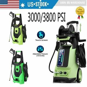 3800PSI 2.8GPM Electric Pressure Washer High Power Home Cleaner Water Sprayer US $85.99