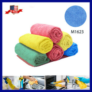 U Clean 12 Microfiber Towels LARGE 16quot; Soft Durable ABSORBENT Car Cleaning Towel