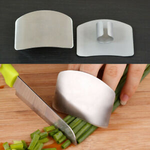 Finger Guard Protector Hand Kitchen Tools Stainless Steel Chop Safe Slice Knife $3.77