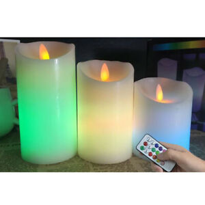 1 Set Candle Lights Flickering Electronic Tealight Lamp for Cafe Bar Home