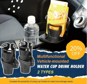 Multifunctional Vehicle mounted Water Cup Drink Holder UK NEW ryeser $14.32
