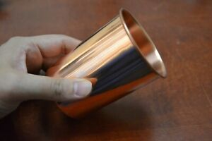 HANDMADE GENUINE COPPER DRINKING GLASS CUP #10648