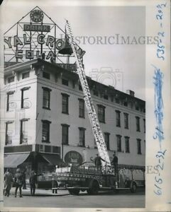 1949 Photo Columbus Fire Department Training 8X10