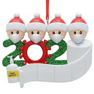 2020 Xmas Christmas Tree Hanging Ornaments Family Ornament Decor