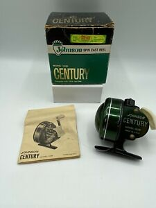Vintage Johnson Spin Cast Reel Model 100B With Box $90.00