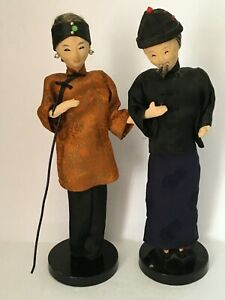 Vintage Pair of Chinese Dolls C $58.00