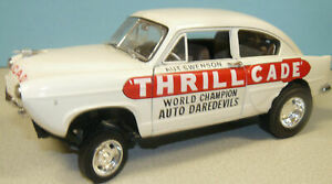 1 18 custom made Henry J Gasser white Thrillcade with a Hemi engine with 2