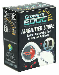 Growers Edge Magnifier Loupe 30x Fast Ship