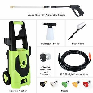 3000PSI 1.8GPM Electric Pressure Washer High Powerful Water Cleaner Machine US $85.99