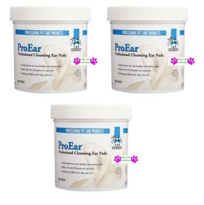 300 p Top Performance ProEar EAR CLEANSING PADS DOG CAT Wipes Wax Odor Cleaning $28.99
