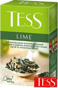 Tess Lime Chinese Green Leaf Tea with Citrus Peel USA Seller
