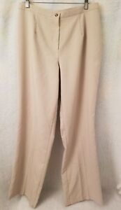 Over amp; Under Womens Brown Pants Size 14W $9.99