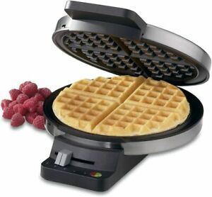 Cuisinart WMR CA Round Classic Waffle Maker with 5 Setting Browning Control $39.95