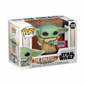 Funko Pop The Child Pendant 2020 NYCC Shared Exclusive CONFIRMED Protector $29.99