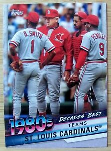 YOU PICK ⚾ 2020 TOPPS SERIES 2 DECADES BEST INSERT BASEBALL CARDS #1 100
