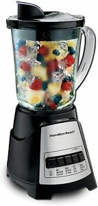 Hamilton Beach Power Elite Blender with 12 Functions Black and Stainless Steel 4