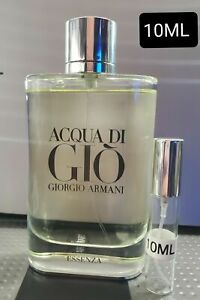 *Discontinued* Acua Di Gio Essenza 10Ml EDP EAU DE PARFUM FOR MEN TRAVEL SPRAY $25.99