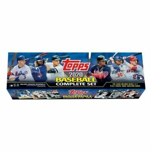 2020 Topps Baseball Complete Set Factory Sealed Retail Edition Sealed $59.49