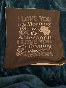 I Love You In The Morning Pillow Case Cover.