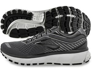 Brooks Ghost 12 Mens Shoe Black Pearl Oyster multiple sizes New In Box