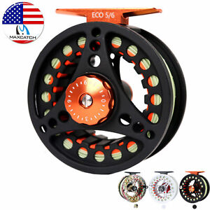 Maxcatch 3 4 5 6 7 8wt Pre Loaded Fly Fishing Reel with Fly Line BackingLeader $34.00