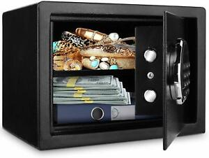 New LCD Digital Home Jewelry Cash Security Safe Box Fireproof Electronic Steel $84.00