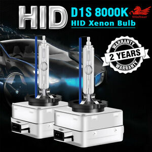 D1S HID Xenon Headlight Light Bulbs OEM Replacement For BMW Audi VW 8000K Blue $19.69