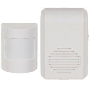 STI 3610 Wireless Motion Activated Chime with Receiver 500' Range Zone 20' 42'