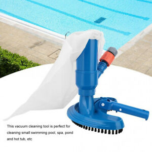 New Swimming Pool Spa Pond Fountain Vacuum Brush Cleaner Cleaning Tool Kit