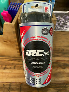 IRC Formula RBCC Tubeless Tires 25mm $60.00