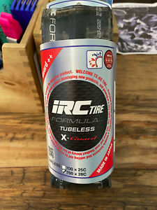 IRC Formula Pro X Guard Tubeless Tires 25mm amp; 28mm $60.00
