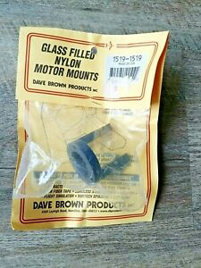 NEW Dave Brown Glass Filled Nylon RC Motor Mounts Part # 1519 $9.99