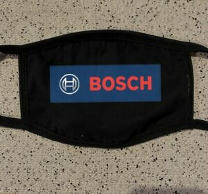 Bosch Tool Logo Face Mask Reusable Washable Light Weight Breathable Cotton $12.99