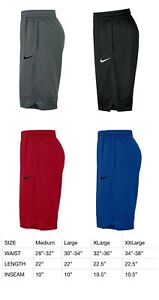 Mens Nike Dri Fit Athletic Gym Muscle Logo Basketball Shorts New With Tags $22.99