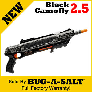 Authentic BUG A SALT BLACK CAMOFLY 2.5 GUN $49.95