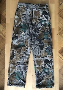 WOOLRICH 100% WOOL CAMO CAMOUFLAGE HUNTING PANTS