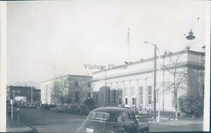 1949 Photo South Mission Street Post Office Yakima Civic 6x10 Vintage Image