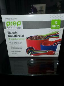 Progressive Prep Solutions Ultimate Measuring Set 10 Cups and 9 Spoons $10.20