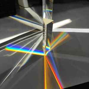 Large Glass Equilateral Prism for Teaching of Optics and Photo Effects $17.95