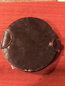 Antique Sewing Case Leather $12.50
