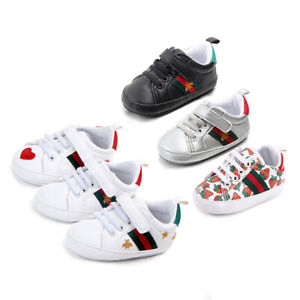 Anti Slip Toddler Baby Shoes Girl Boy Soft Crib Kids Prewalker Babe 0 18 Months $10.44