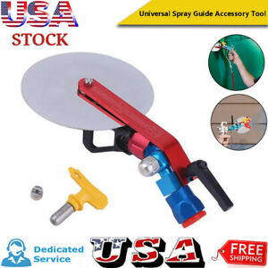 Universal 7 8quot; Airless Paint Sprayer Spray Guide Accessory Tool For Titan Wagner $25.99