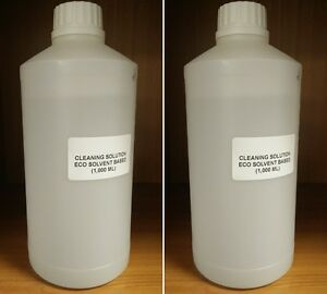 ECO SOL CLEANING SOLUTION Roland Mimaki Mutoh Epson DX4 DX5 DX7 2000 ml $63.00