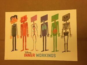 Inner Workings Collectible Commemorative Lithograph Disney Animation RARE HTF $39.99