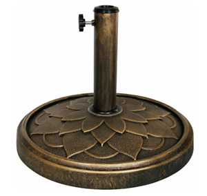 New Blissun 26.5 lbs Patio Market Umbrella Base Stand $39.99