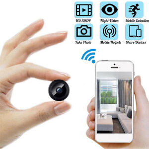 Mini Camera Wireless WIFI IP Home Security 1080P DVR Night Vision Motion G $13.70