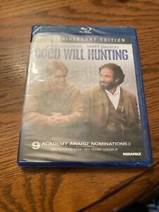 Good Will Hunting Blu ray Disc 2012 15th Anniversary Edition BRAND NEW