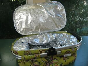 Portable Insulated Casserole Carrier Travel Case Bag Hot cold $18.95